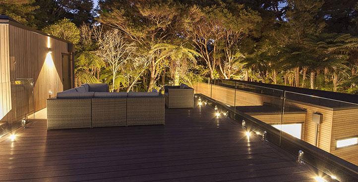 Beautiful Deck Glass Railing